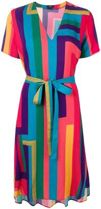 Paul Smith Rainbow Stripe shirt dress