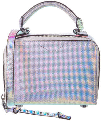 Rebecca Minkoff Iridescent Leather Box Crossbody