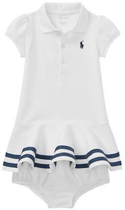 Ralph Lauren Striped Shirtdress and Bloomers Set