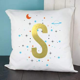 The Letteroom Gold Letter Space Cushion