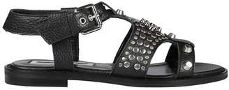 Alexander McQueen Moon Flat Sandals