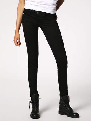 Diesel SKINZEE-LOW Jeans 0813E - Black - 25