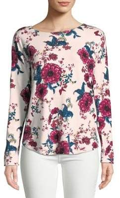 Context Floral Print Sweater