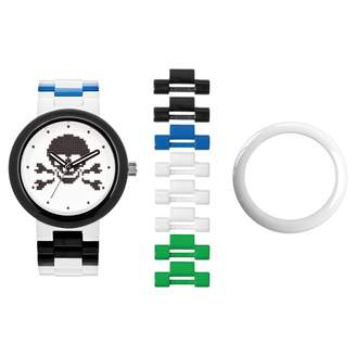 Lego Unisex Skull Interchangeable Watch Set 9007552