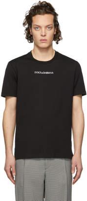 Dolce & Gabbana Black Logo T-Shirt