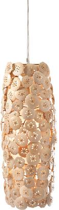 Imax Patricio Coco Flower Pendant Light