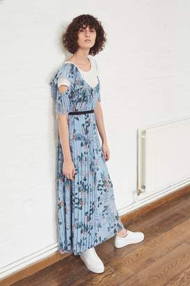 French Connenction Kioa Drape Strappy Maxi Dress