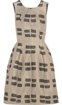 Vivienne Westwood Pleated Jacquard Dress
