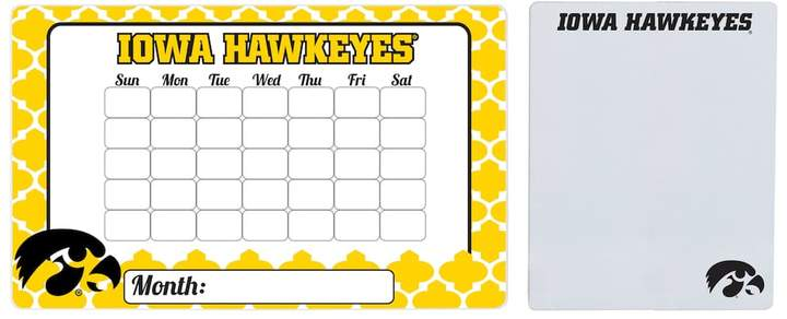 Iowa Hawkeyes Dry Erase Calendar & To-Do List Magnet Pad Set