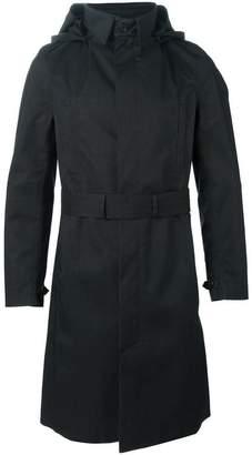Norwegian Rain belted hood coat