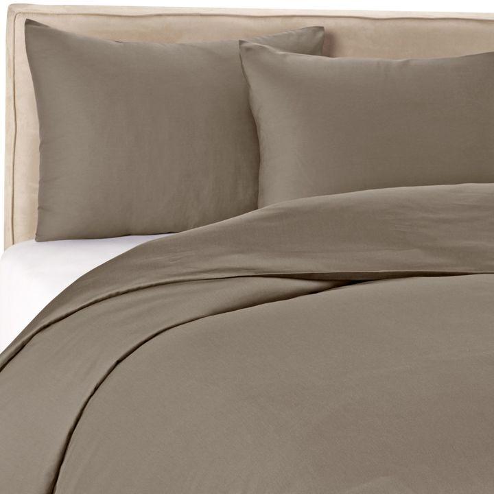 Wamsutta 400 Duvet Cover Set in Grey