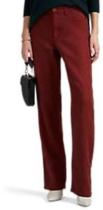 Leo & Sage WOMEN'S LINEN-COTTON RELAXED TROUSERS