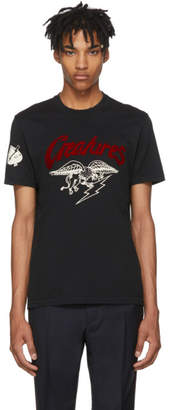 Givenchy Black Creatures Jersey T-Shirt
