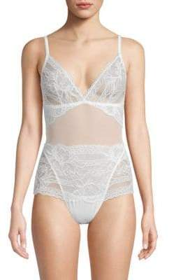 Mimi Holliday Floral Lace Bodysuit