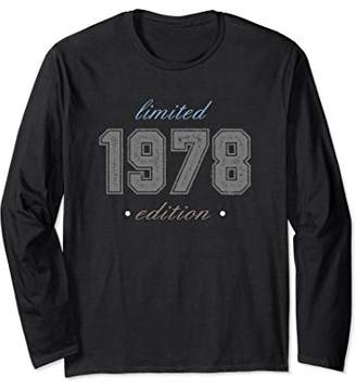 1978 Limited Edition Shirt Fortieth Birthday Distressed Tee