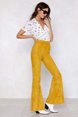 Nasty Gal Flare Your Soul Pants