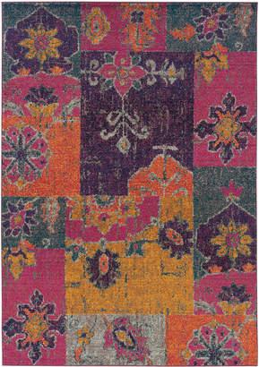 "Oriental Weavers Area Rug, Kaleidoscope 2060V Rad Patchwork 9'9"" x 12'2"""