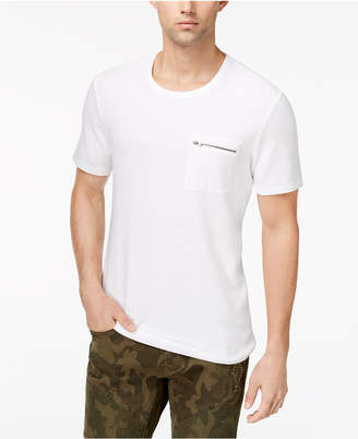 INC International Concepts I.n.c. Men's Zip-Pocket T-Shirt, Created for Macy's