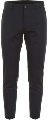 Dolce & Gabbana Chino Trousers With Logo Patch