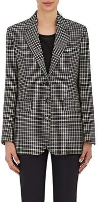 Helmut Lang WOMEN'S CHECKED WOOL THREE
