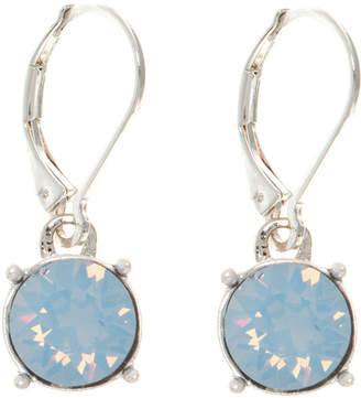 Gloria Vanderbilt Blue Circle Drop Earrings