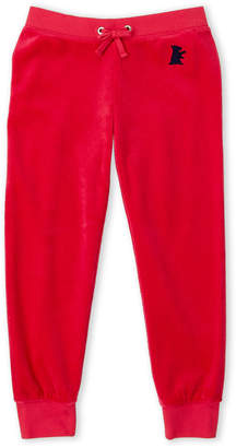 Juicy Couture Girls 4-6x) Muse Pink Velour Joggers