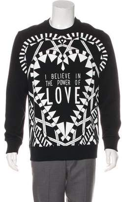 Givenchy Heart Graphic Sweatshirt