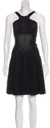 Chanel Pleated Knit Dress w/ Tags