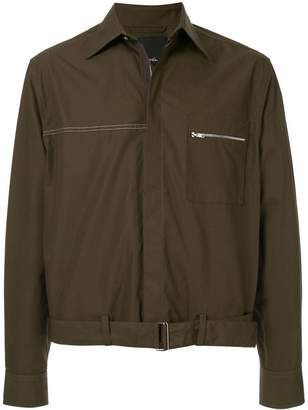 3.1 Phillip Lim lightweight buckle hem jacket