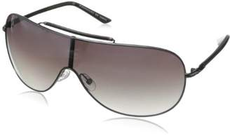BCBGMAXAZRIA Women's B858 Shield Sunglasses