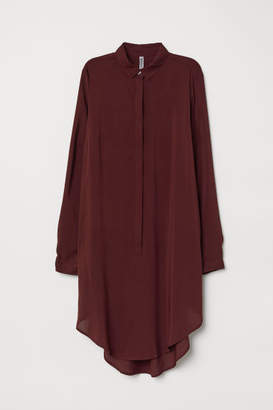 H&M Long-sleeved Tunic - Red