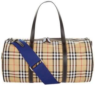Burberry Medium Vintage Check Barrel Bag