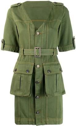 House of Holland military mini dress