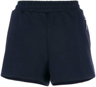 Markus Lupfer applique detail jersey shorts