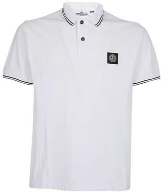 Stone Island Logo Patch Polo Shirt