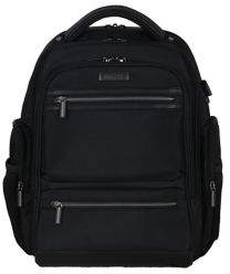 Kenneth Cole Reaction Double Pocket Double Gusset Tech It Backpack