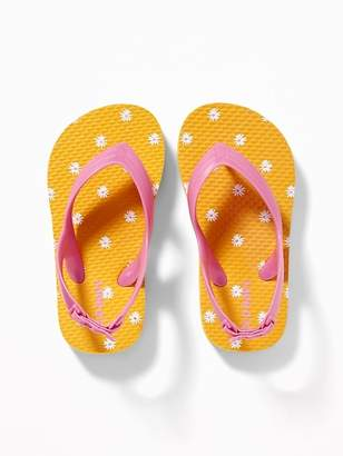 1990d166fc8 Old Navy Printed Flip-Flops for Toddler Girls