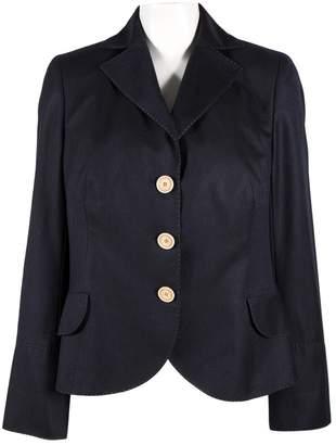 Akris Navy Wool Jackets