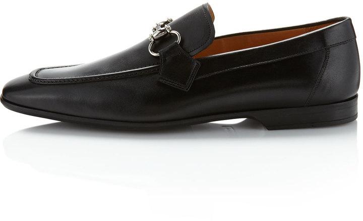 Magnanni Belmont Bit Loafer, Black