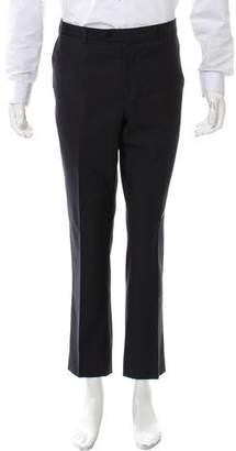 Loro Piana Flat Front Wool Pants