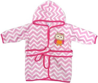 Neat Solutions Owl Hooded Fleece Bath Robe