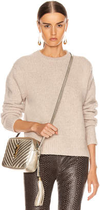 Acne Studios Kiany Sweater in Cold Beige | FWRD