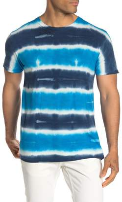 Original Paperbacks South Sea Tie Dye Stripe Crew T-Shirt