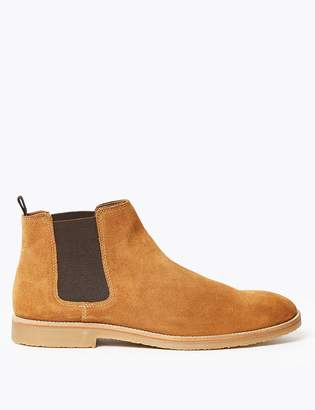 Marks and Spencer Suede Crepe Sole Chelsea Boots