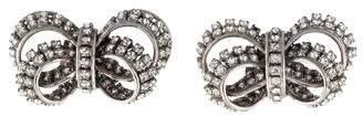 Erickson Beamon Crystal Bow Earrings