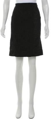 Louis Vuitton Lace Pencil Skirt