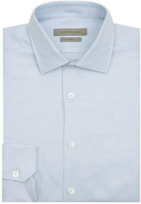 Corneliani Cotton Grid Shirt