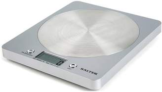 Salter Silver Disc Electronic Kitchen Scale 1036