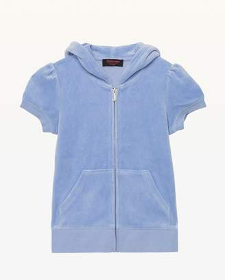Juicy Couture Summer Love Velour Short Sleeve Robertson Jacket for Girls