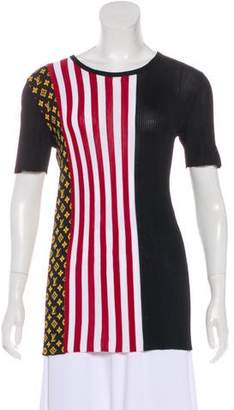 Louis Vuitton Patterned Short Sleeve Top